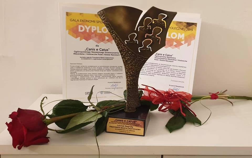 Nagroda od Prezydena Miasta Częstochowy