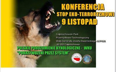 """""""Stop eko-terroryzmowi"""""""